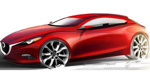 เผยภาพ Mazda3 ตัว Concept ที่จะมาพร้อมกับเครื่องยนต์ HCCI ใหม่
