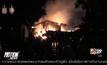 ไฟไหม้บ้านในชุมชนเมืองพัทยา