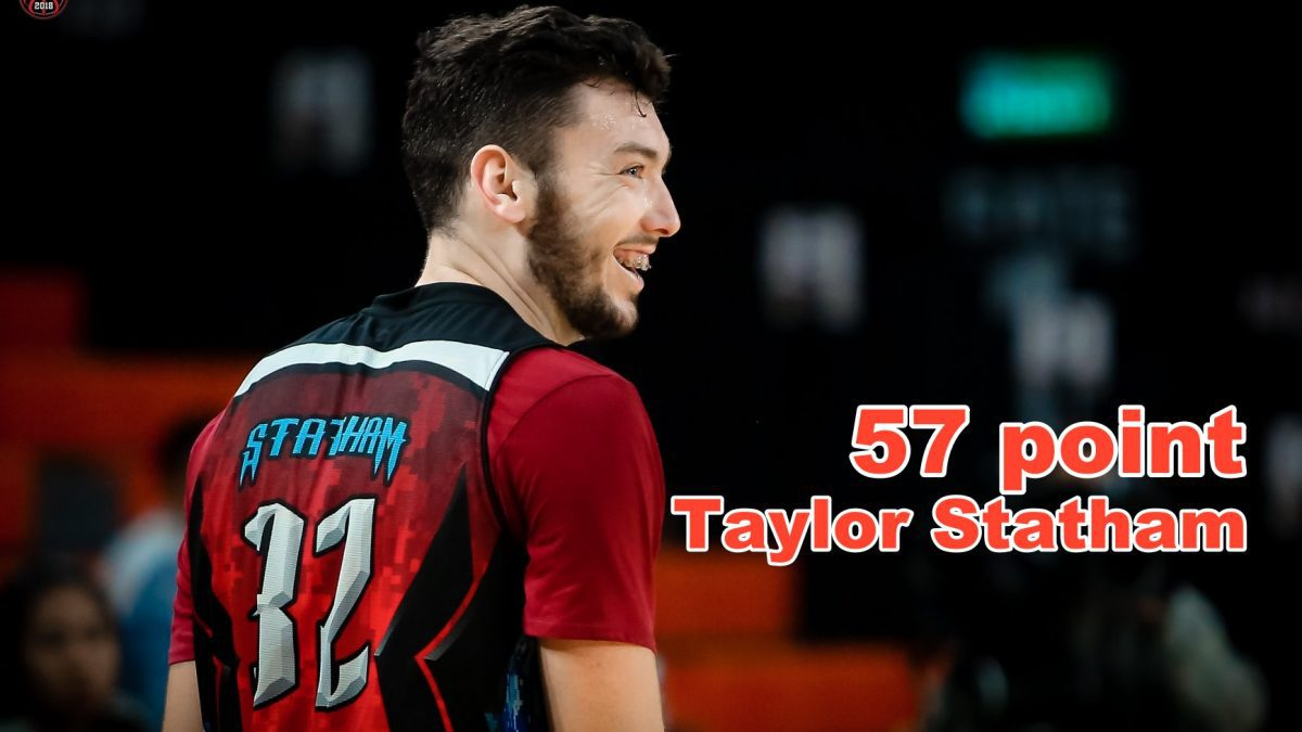 Taylor Statham 57 point
