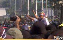 """อินโดฯ ประท้วงผลเลือกตั้ง """"วิโดโด้"""" นั่งเก้าอี้ ปธน.อีกสมัย"""