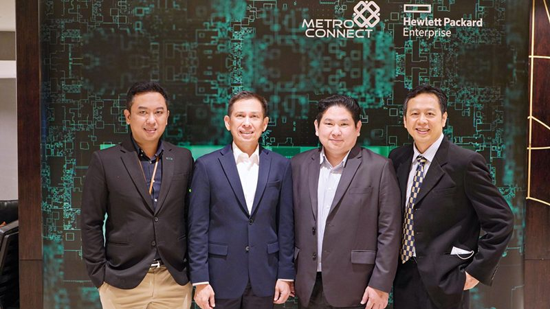 Metro Connect ร่วมกับ HPE และ Cohesity ขยายตลาด Data Management Solutions สู่พันธมิตรทางธุรกิจ