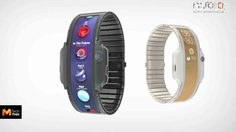 Nubia เผยคอนเซปต์สมาร์ทโฟนจอยืดหยุ่น Nubia Alpha ที่มาในรูปแบบของนาฬิกา