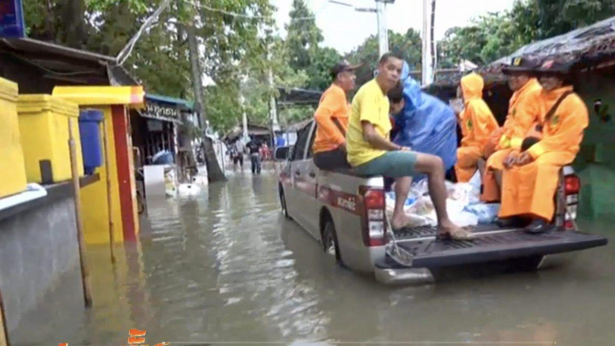 น้ำท่วมสูงหลายพื้นที่ฝั่งทะเลอันดามัน