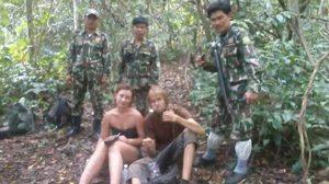 พบแล้ว 2 นักท่องเที่ยวต่างชาติ หลงป่าเขาใหญ่