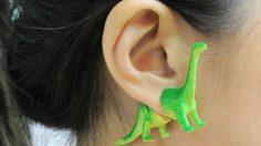 ฮิตติดหู ไอเดียต่างหูไดโนเสาร์ ลองสักตัวไหม?