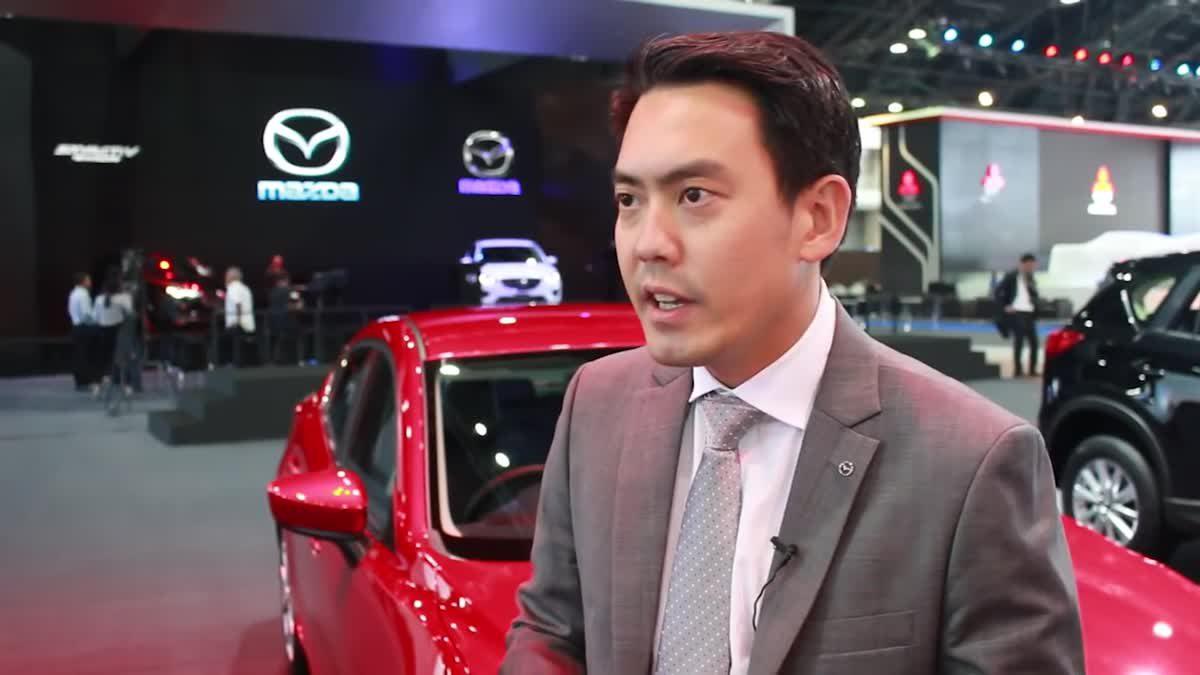 [BIMS2016] เยือนบูธมาสด้า ยลโฉม Mazda CX-3 Racing Concept