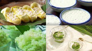 7 สูตรขนมไทย เมนูขนมหวานทำง่าย อร่อยเพลินๆ ในวันหยุด
