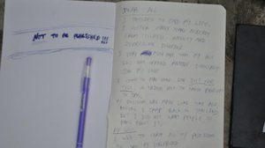 นักท่องเที่ยว น้อยใจสาวไทย กินยาตาย เขียนจม.สั่งเสีย ห้ามนำศพกลับประเทศ
