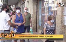 บราซิลยอดเสียชีวิตจากโควิด-19 เกิน 70,000 ราย