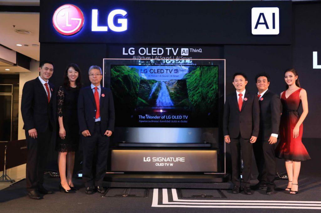 เปิดตัวนวัตกรรมภาพ เสียงคมชัดสมจริง LG OLED TV W9