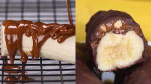 สอนทำขนม กล้วยคาราเมล หวานฉ่ำ