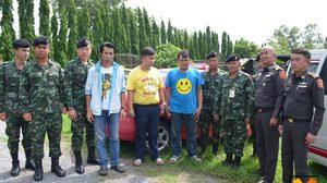 ทหารจับกุม 'แท็กซี่มาเฟีย' ย่านรังสิตข่มขู่กรรโชกทรัพย์