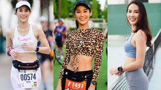 ใบหม่อน ธนพร นางฟ้านักวิ่ง ที่รักการออกกำลังกายเป็นชีวิตจิตใจ