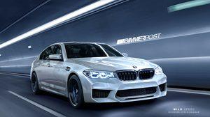 หลุด! โฉมหน้าว่าที่ BMW ซีรี่ย์ 5 รุ่นใหม่ปี 2018
