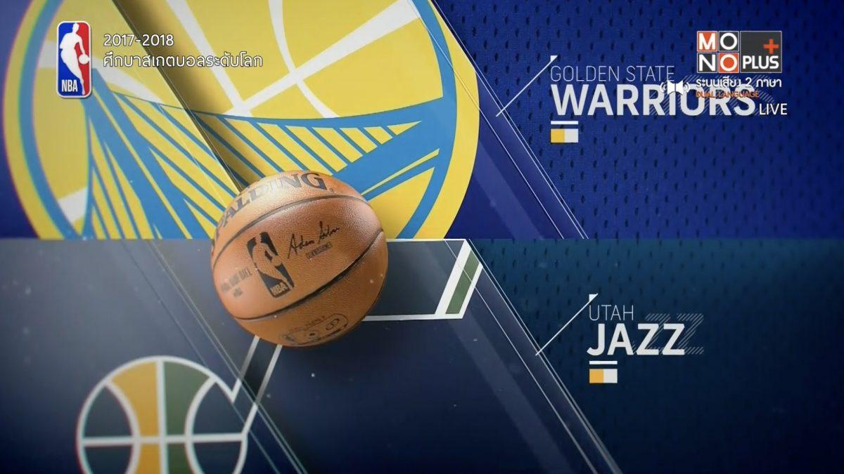 Highlight Utah Jazz  VS  Golden State Warriors