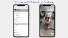 Facebook เพิ่มฟีเจอร์ใหม่ ถ่ายภาพแบบ 3 มิติ Facebook 3D Photo