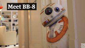 เจ๋งอ่ะ! หนุ่มแคนาดา สร้างหุ่น BB-8 สตาร์ วอร์ส เหมือนเป๊ะ