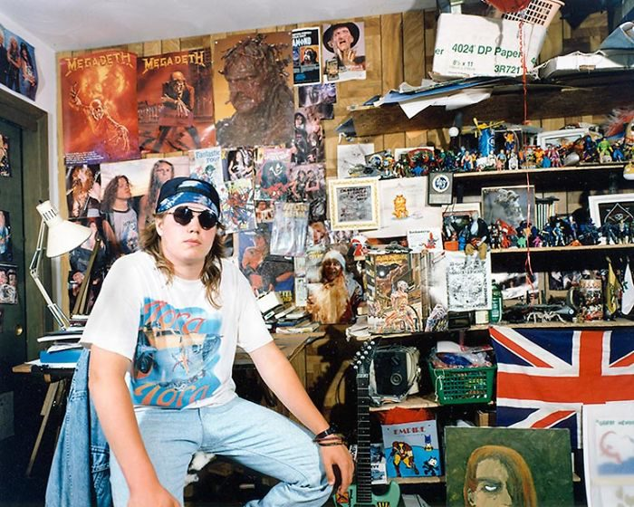 The Bedrooms Of Teenagers In The 90s (3)