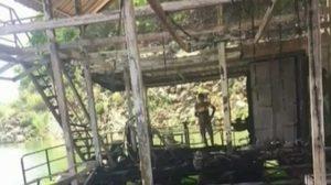 นักศึกษาโร่ร้องสื่อ หลังหนีตายไฟไหม้แพ แต่ถูกเจ้าของแพเรียกเงิน 6 แสน