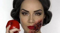 5 of Disney Princesses zombie-fied by a Makeup artist