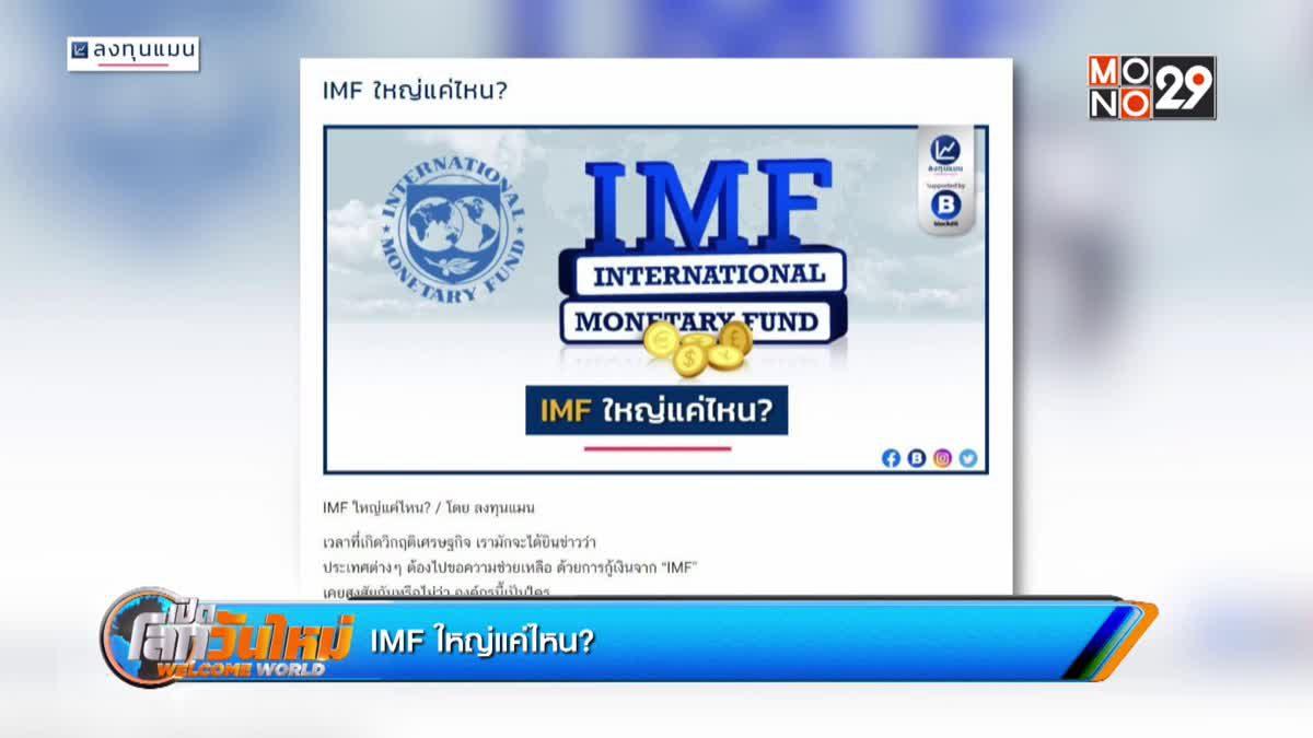 IMF ใหญ่แค่ไหน?