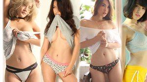 สุดแซ่บ…ภาพเบื้องหลัง A'lure Magazine Vol.74 กับ 4 สาวนางแบบสุดเซ็กซี่ ประจำ เดือนมีนาคม