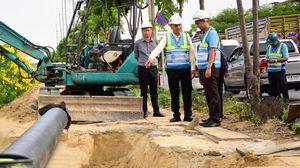 กปน. ทุ่ม 13 ล้าน วางท่อประปาใหม่ เพิ่มความสะดวกสบายให้ประชาชน
