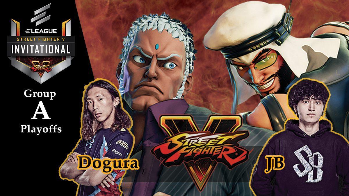 การแข่งขัน Street Fighter V | ระหว่าง JB vs Dogura [Group A]