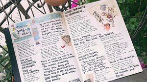 ไอเดียสมุดบันทึก Lifebook ของศิลปินอเมริกา สวยจนอยากลุกมาทำสักเล่ม