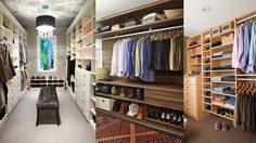 10 ตัวอย่างการตกแต่ง ห้อง Walk in closet ในสไตล์โมเดิร์น
