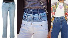 ท่าจะมาแรง!! กางเกงยีนส์ เทรนด์ใหม่ คงมีใครติดกระดุมกันผิดๆถูกๆแน่!