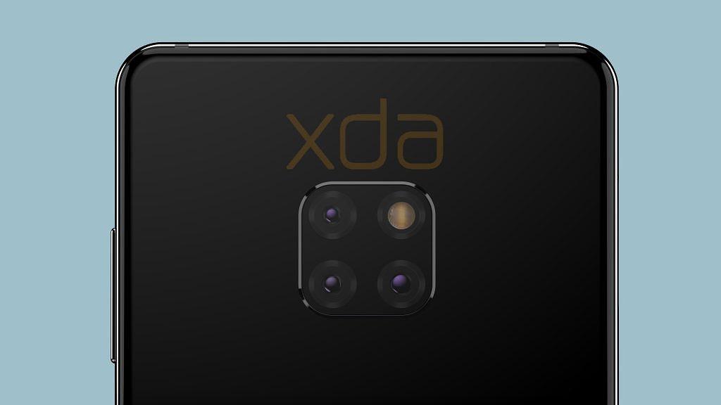 กล้องหลัง Huawei Mate 20