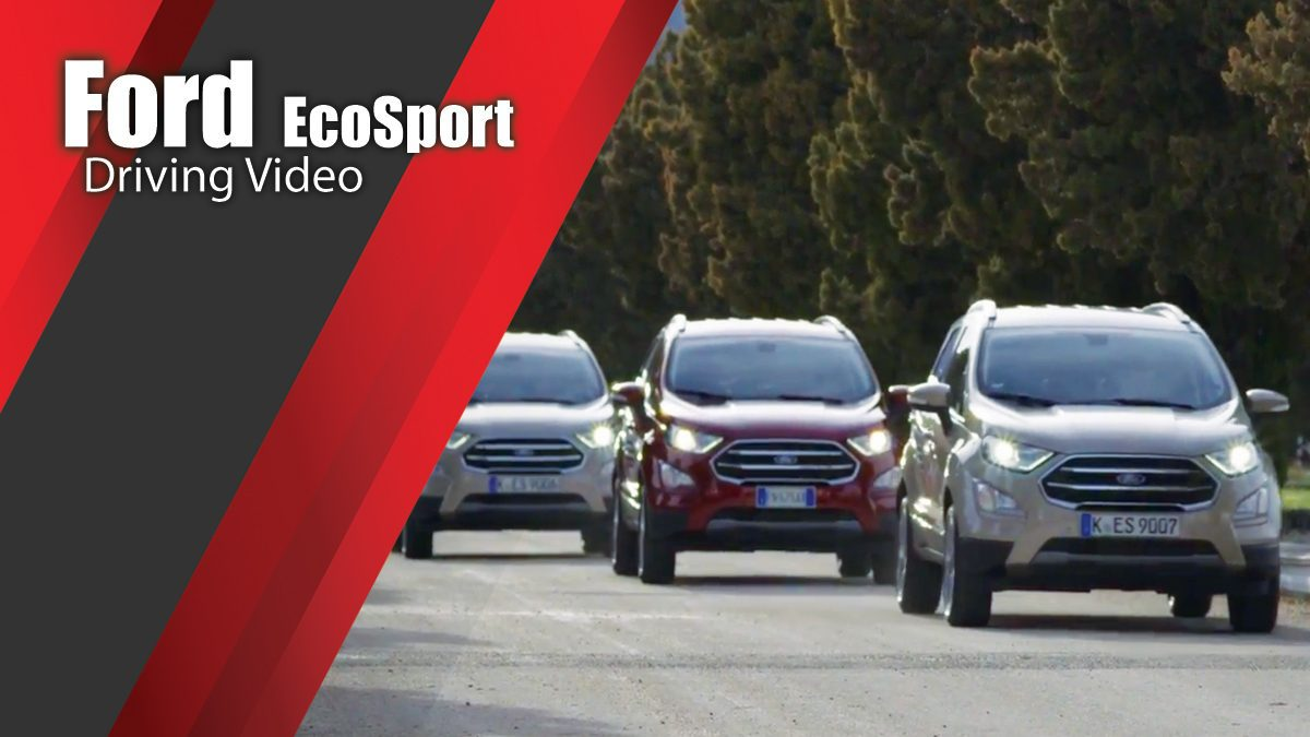 The new Ford EcoSport Driving Video