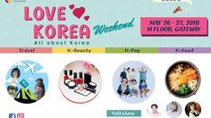 """เชิญเที่ยวงาน """"Love Korea Weekend"""" รวมพลคนรักเกาหลี เที่ยวสุขใจไปกันเอง"""