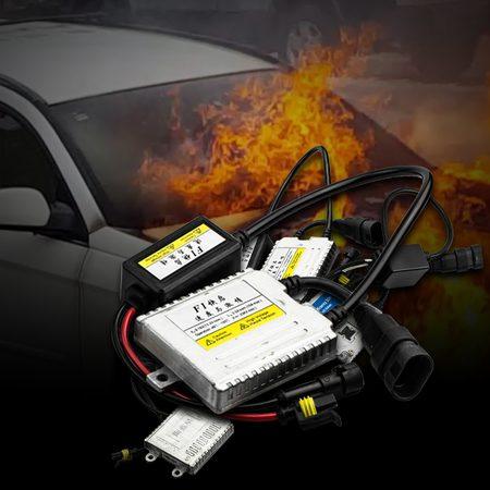 แบงก์คิ้น เตือนใช้บัลลาสค่าวัตต์สูงแต่งไฟรถยนต์ ก่อให้เกิดไฟไหม้รถ