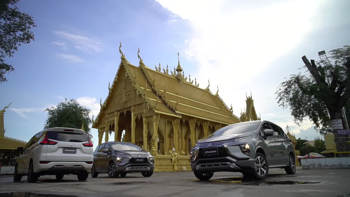 All New Mitsubishi Xpander ทดสอบการขับขี่ เส้นทางบุรีรัมย์ -  กรุงเทพฯ