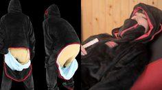 ชุดผ้าห่มเคลื่อนที่ นี่มันนวัตกรรมเพื่อมวลมนุษยชาติชัดๆ ง่วงไหน นอนนั่น