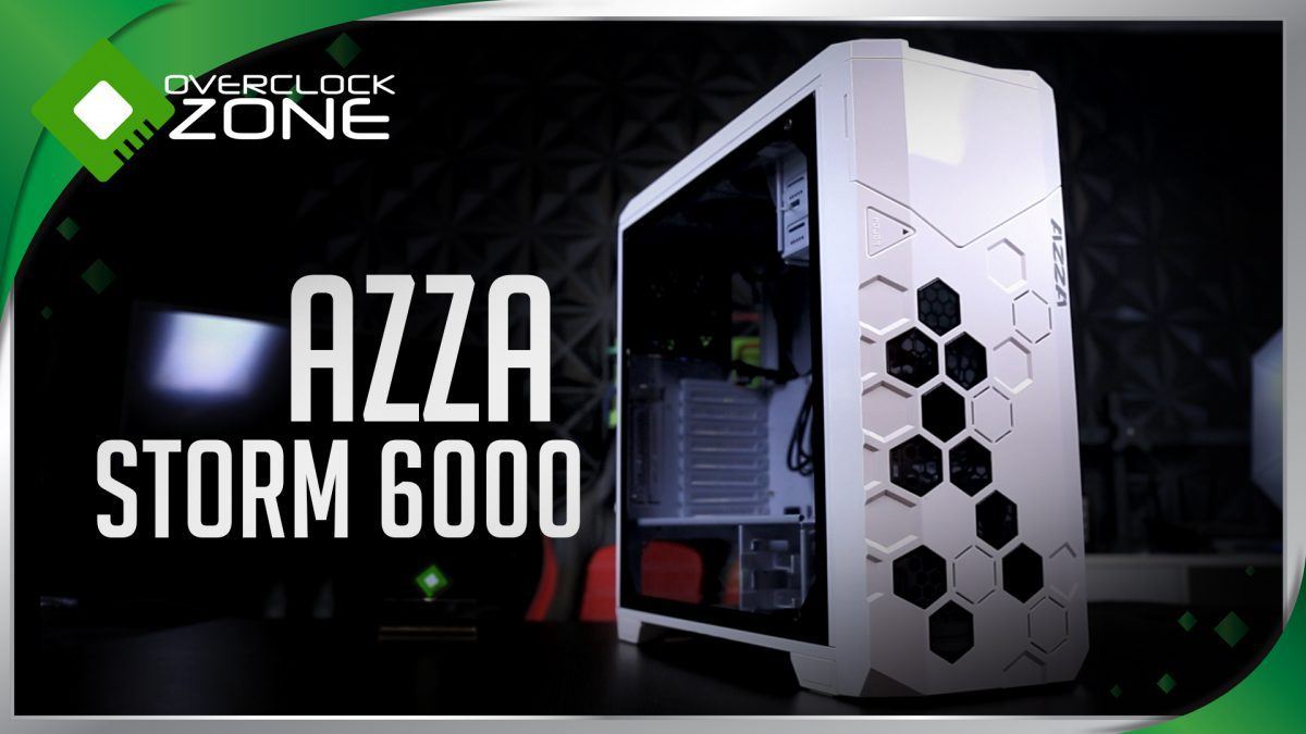 รีวิว AZZA Storm 6000 : Full-Tower Chassis