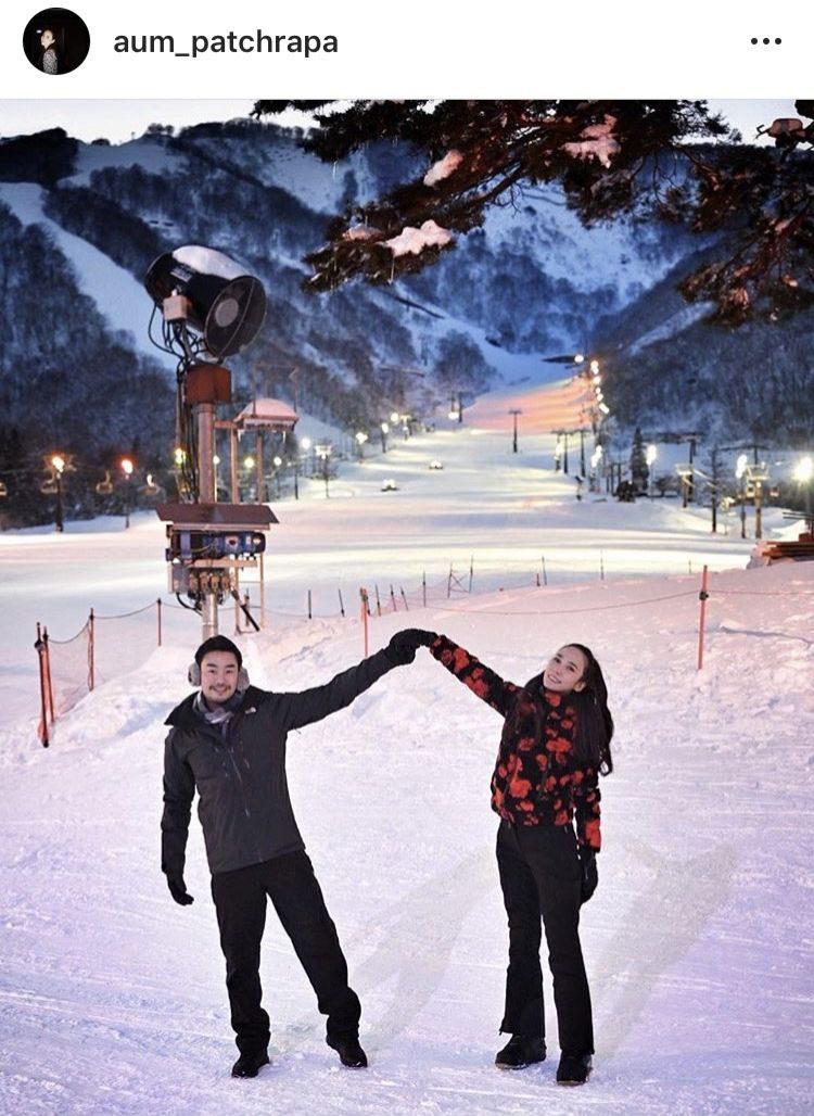 ไฮโซพก-อั้ม พัชราภา หวานกลางหิมะ
