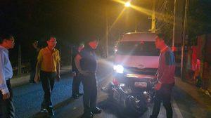 'อนุทิน' ลุยช่วยผู้ประสบอุบัติเหตุบนถนน ขณะไปตรวจราชการที่เชียงใหม่