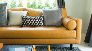 สีสันของ โซฟา เปลี่ยนบรรยากาศให้มุมนั่งเล่นดูสวยและลงตัวยิ่งขึ้น