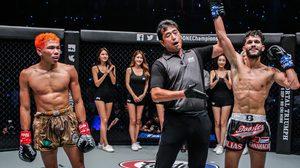 เพชรดำ เข็มขัดกระเด็น พลาดท่าพ่ายศึก ONE: DREAMS OF GOLD, สแตมป์ คว้าชัย MMA