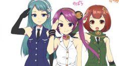 JSDF จังหวัด Ibaraki ขอเปิดตัวสาวโมเอะสามเหล่าทัพบ้าง