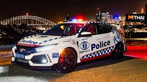 Honda Civic Type R เวอร์ชั่นรถตำรวจตรวจตราที่ ออสเตรเลีย