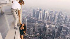 รุมวิจารณ์ นางแบบชาวรัสเซีย ถ่ายคลิปเสี่ยงตายบนตึกสูง