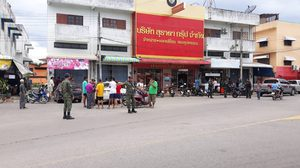 อุกอาจคนร้าย 5 คน แต่งกายคล้ายทหาร บุกปล้นร้านทอง ที่ จ.สงขลา