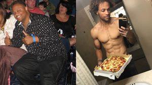 หนุ่มอ้วนลดน้ำหนัก 22 กิโลกรัมใน 2 ปี ทั้งๆ ที่ยังกินพิซซ่าได้ทุกวัน