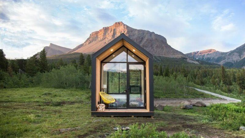 บ้านสำเร็จรูปพื้นที่ 10 ตร.ม. ติดตั้ง พลังงานแสงอาทิตย์ สร้างเสร็จภายใน 4 ชม.