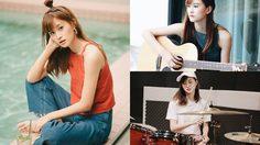 สาวหน้าหวาน ฝ้าย BNK48 ความสามารถหลากหลาย เล่นกีตาร์ ร้องเพลง ตีกลอง