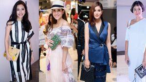 15 กระเป๋าคลัทช์ หลากสไตล์ จากสาวๆแฟชั่นตัวจี๊ด งาน Fashion Field Trip 2015
